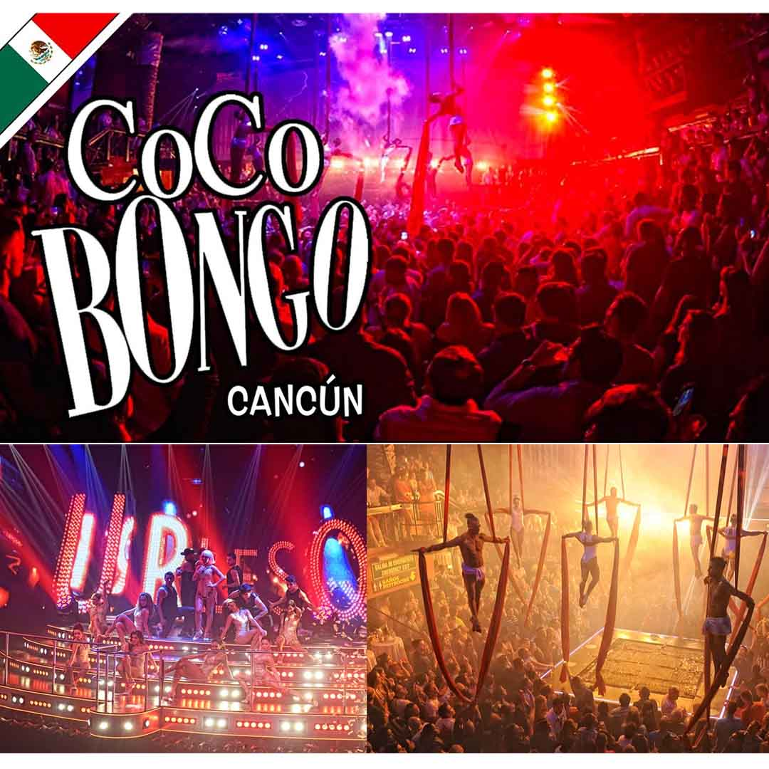 Coco Bongo Canc�n Barra Libre